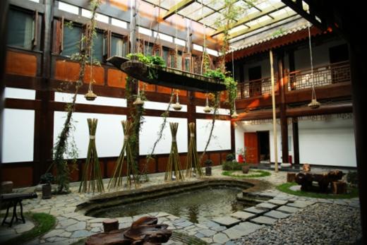颂棠别院打造古风酒店典范,昌州又添中国风